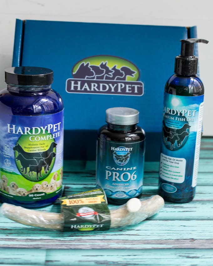 HardyPet Nutrition Blue Box Bundle | girlinthelittleredkitchen.com