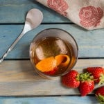 Strawberry Rhubarb Shrub Old Fashioned-2
