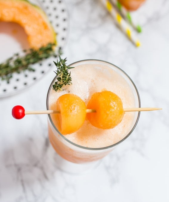 Cantaloupe Tequila Spritzer