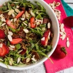 Strawberry Bacon Farro Salad-4