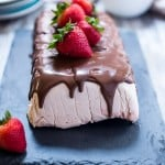 Chocolate Covered Strawberry Semifreddo