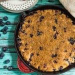 Susan Palmer - Bourbon Blueberry Buckle