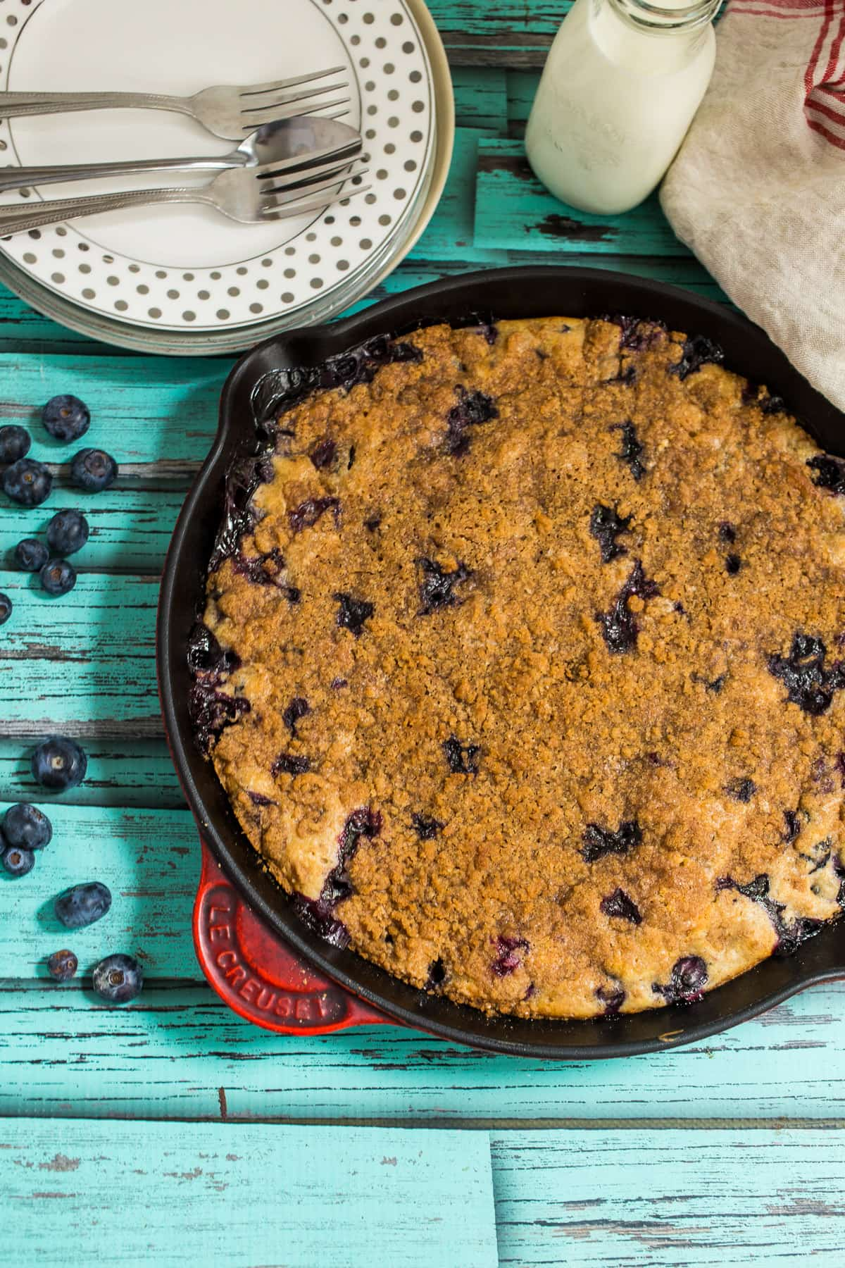 Blueberries + Bourbon + Cake = a sweet summer dessert that can't be ...