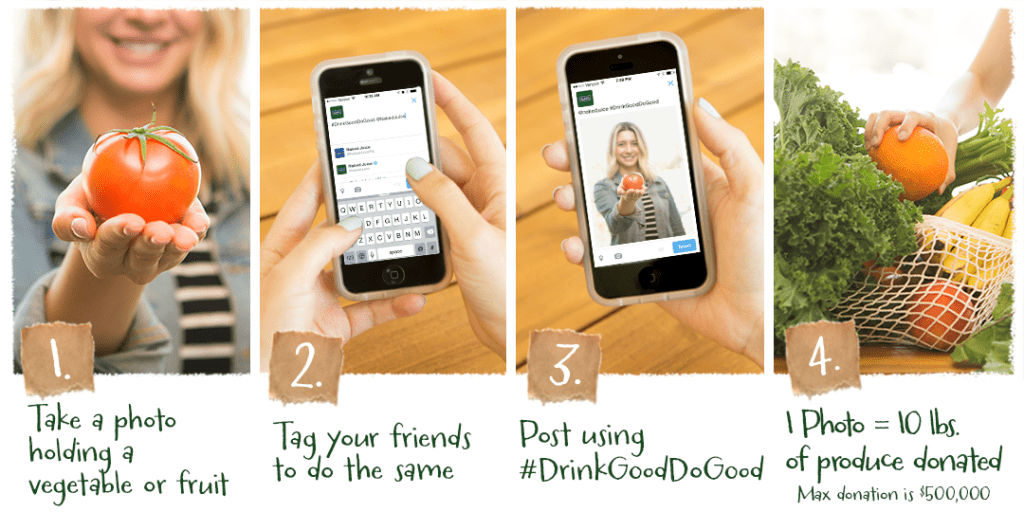 How to help Drink Good Do Good Campaign