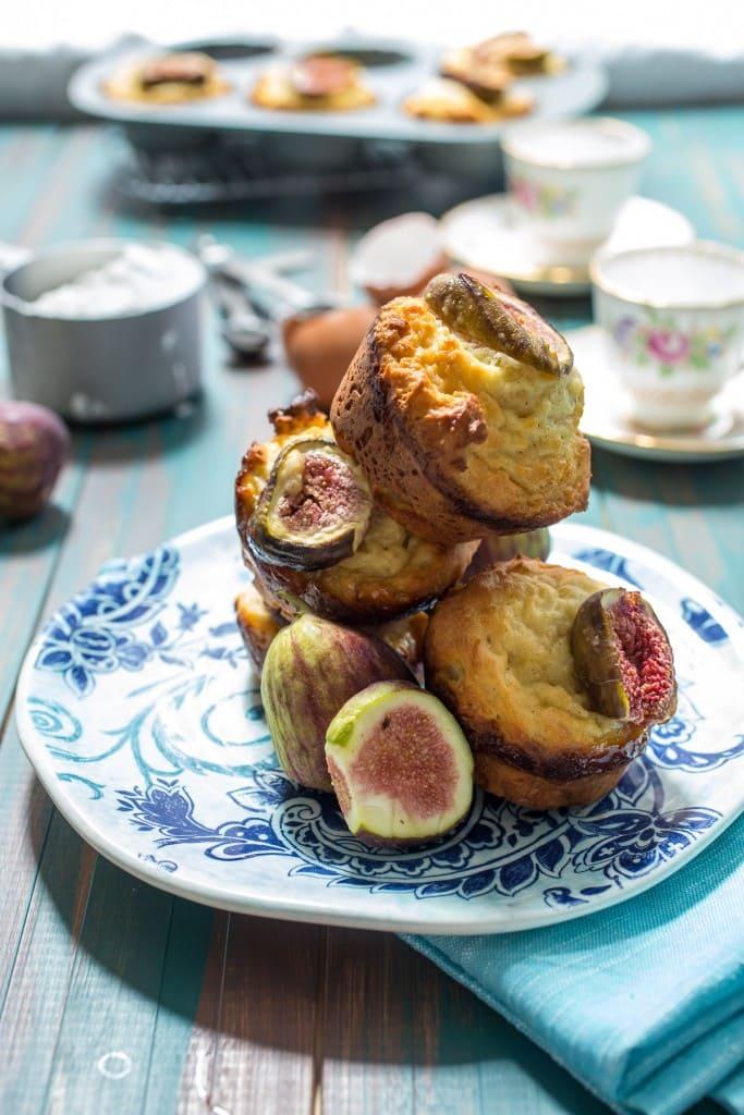 Greek Yogurt Pancake Muffins | girlinthelittleredkitchen.com