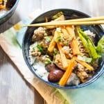 Thai Pork and Eggplant Rice Bowl-2