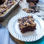 Chocolate Peanut Butter Crunch Cake-4