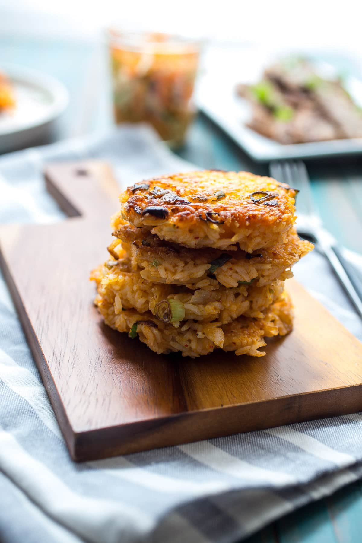 Kimchi Rice Cakes With Beef Bulgogi The Girl In The
