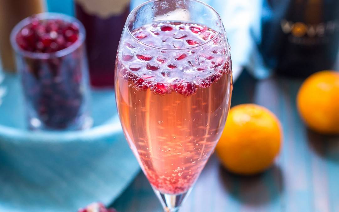 Winter Fruit Mimosas