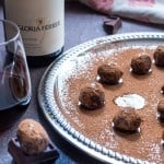 Red Wine Chocolate Truffles-5