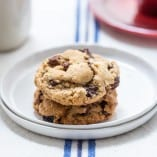 Cherry Almond Chocolate Chunk Cookies-3