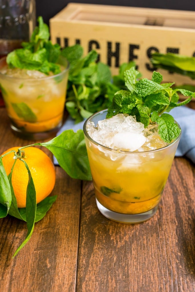 Honey Tangerine Smash | girlinthelittleredkitchen.com