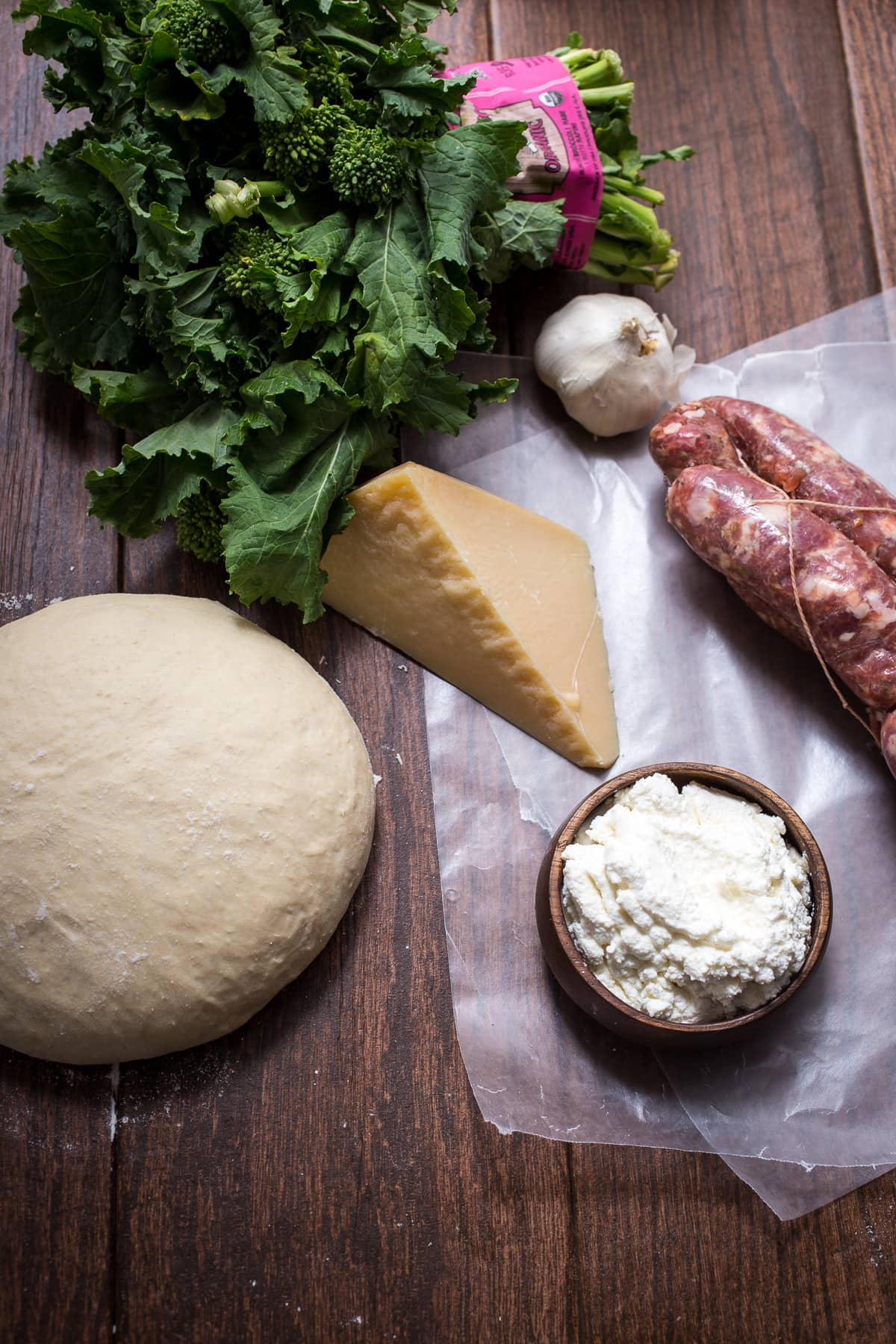 Broccoli Rabe and Sausage Pizza | The Girl in the Little ...