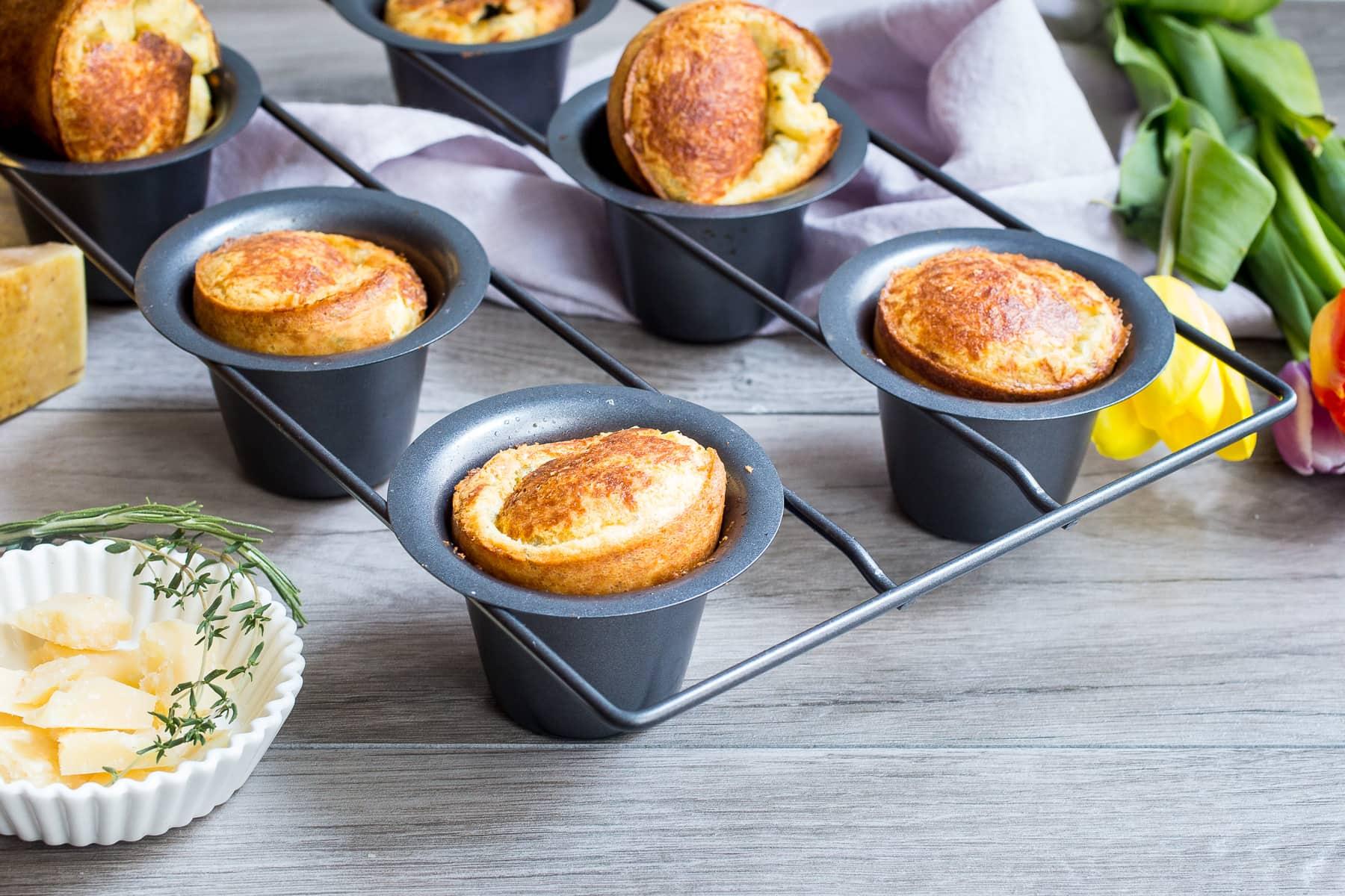 Herbed Popovers Recipe — Dishmaps