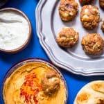 Chipotle Hummus Meatballs-2