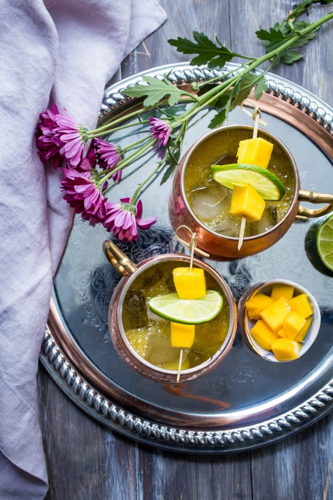 Mango Mule | girlinthelittleredkitchen.com