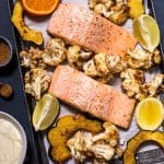 Sheet Pan Salmon with Garam Masala Squash and Cauliflower-2