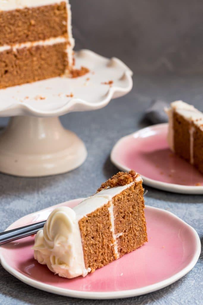 Beet Velvet Cake | girlnthelittleredkitchen.com
