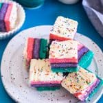 Rainbow Layer Cookies-4