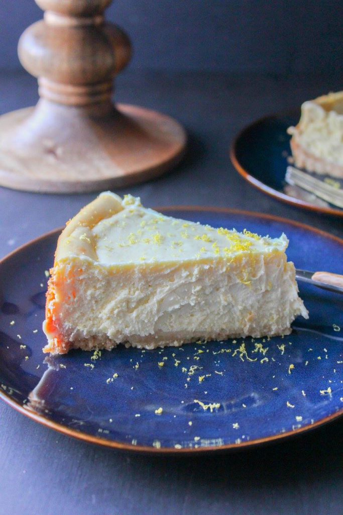 LEMON CHEESECAKE WITH SHORTBREAD CRUST | CHEF NEXT DOOR