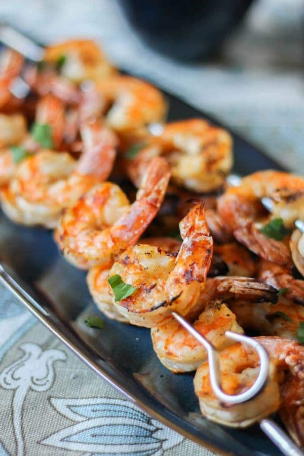 Shrimp on the Barbie with Chimichurri Sauce | Chef Next Door