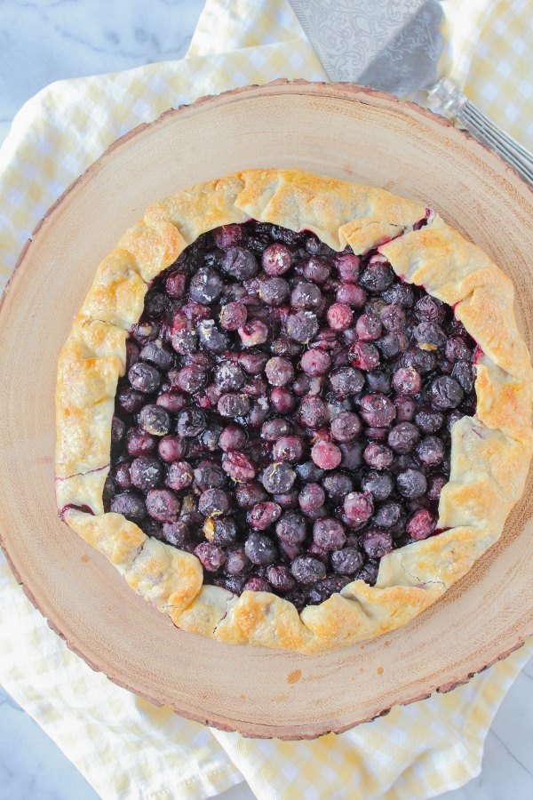 Blueberry Galette | Comfortably Domestic