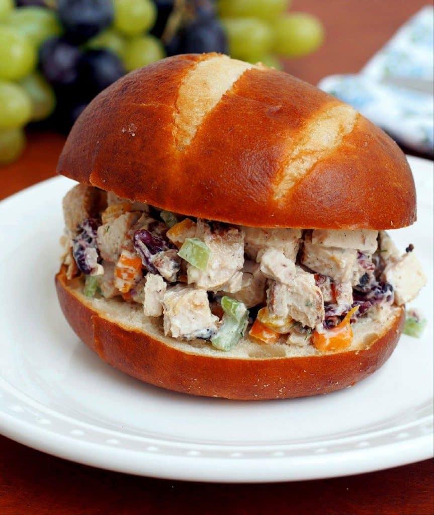 Chicken Salad with Lemon Dill Yogurt Dressing | Comfortably Domestic