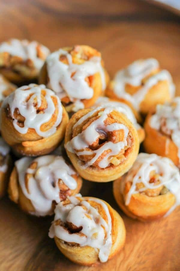 Mini Walnut Cinnamon Buns | Chef Next Door