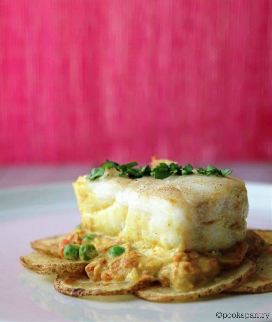 Coconut Curry Corvina (fish) with Idaho Potatoes | Pook's Pantry