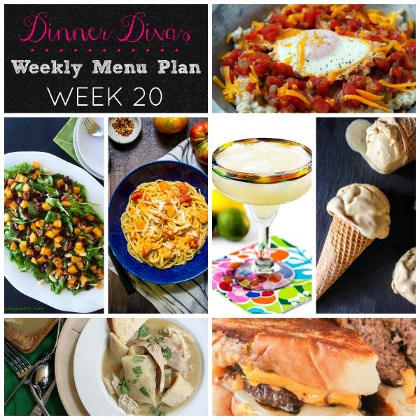 Weekly Meal Plan - Week 20 | girlinthelittleredkitchen.com