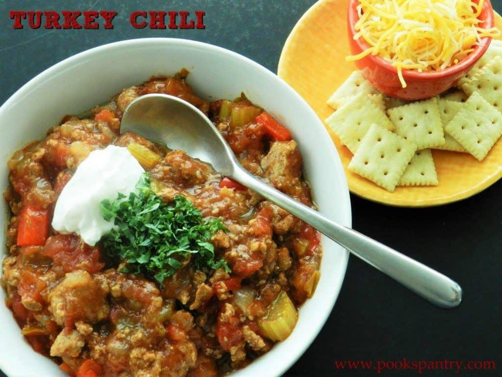 Turkey Chili | Pook's Pantry