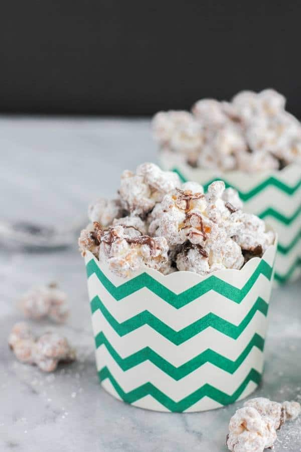 Puppy Chow Popcorn | Chef Next Door