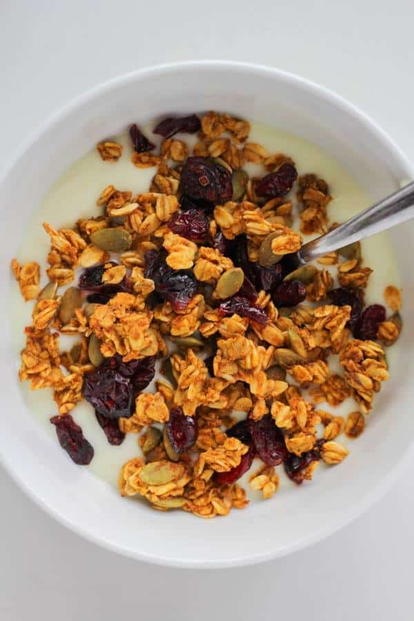 Pumpkin Spice Granola | Chef Next Door