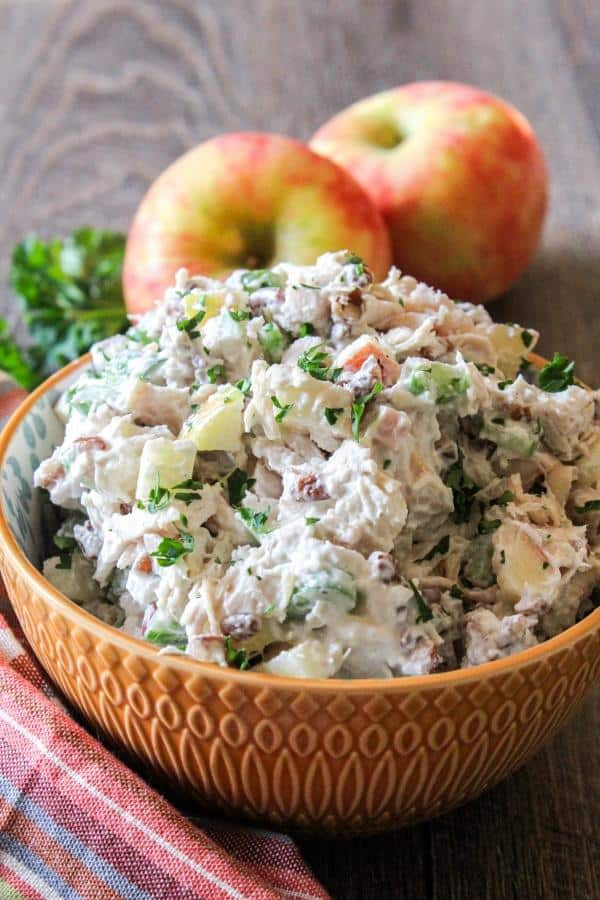 Apple Pecan Chicken Salad | Chef Next Door