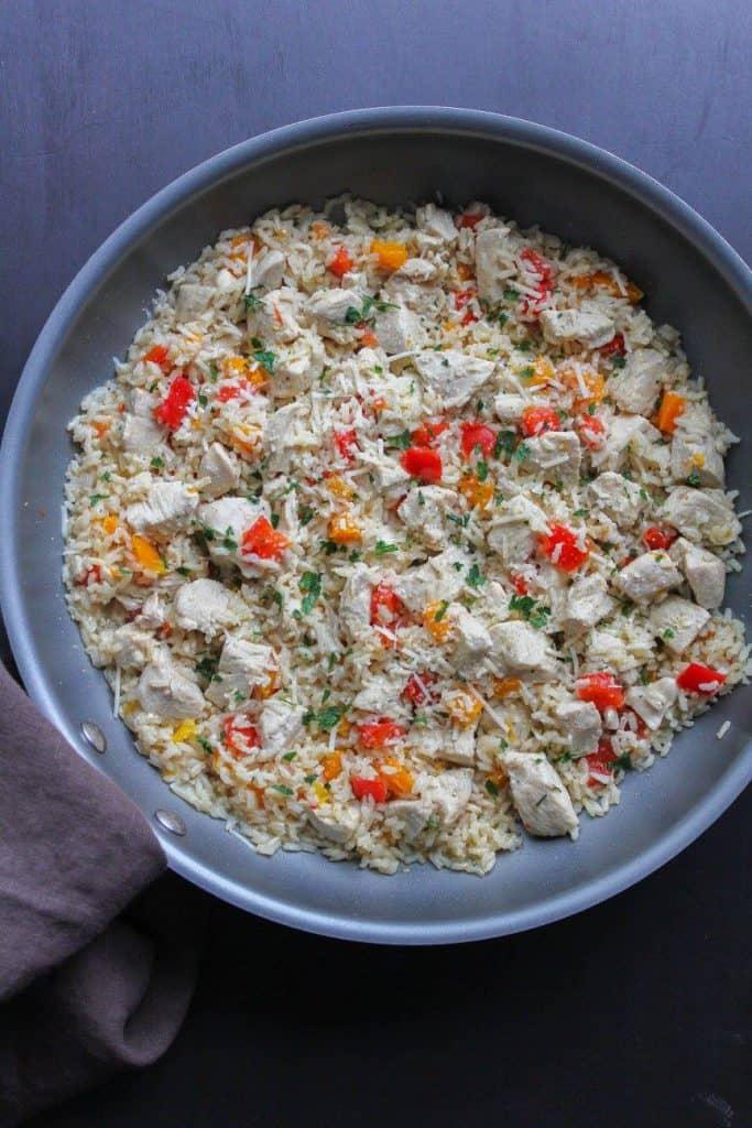 One Pan Lemon Chicken & Rice | Chef Next Door