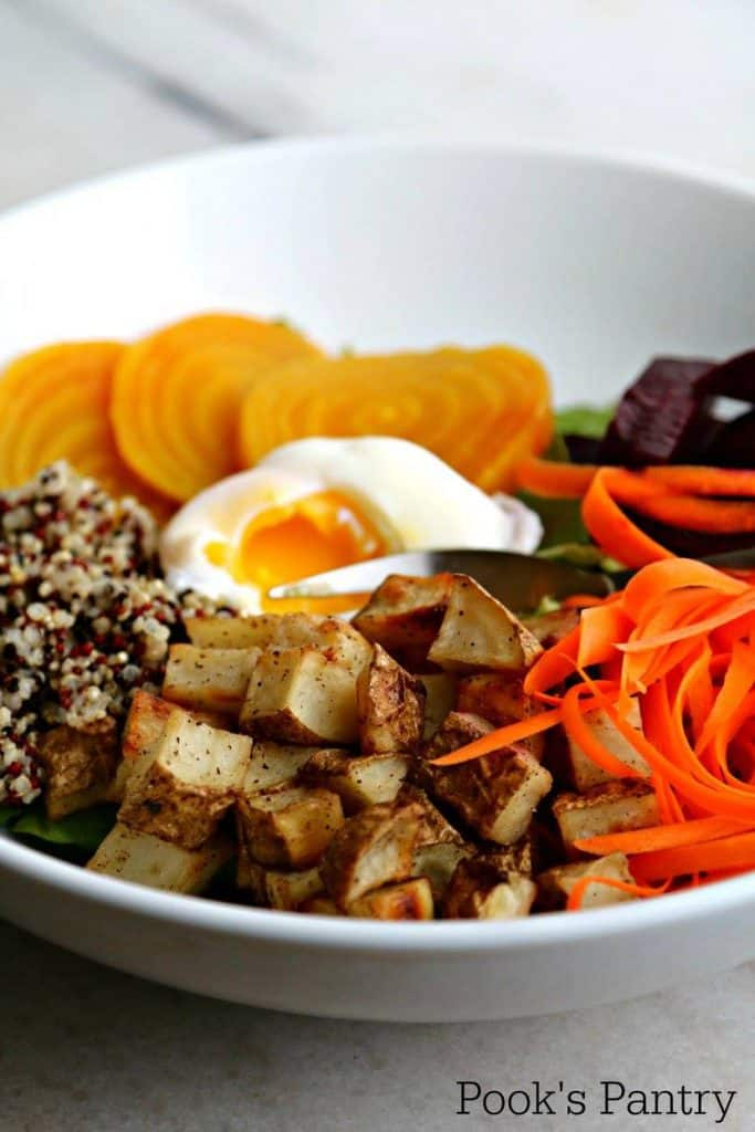 Winter Market Buddha Bowl | Pook's Pantry