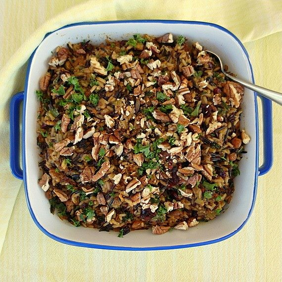 White and Wild Rice Stuffing | Pastry Chef Online