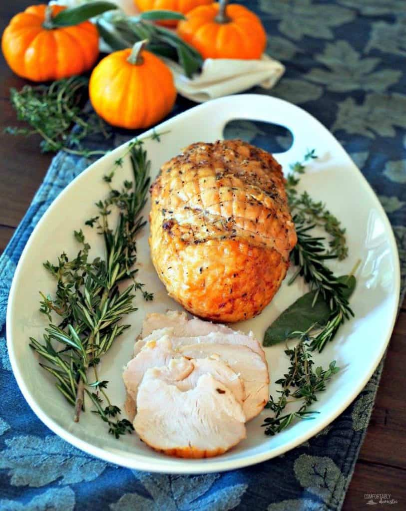 Citrus Herb Roasted Turkey | Comfortably Domestic