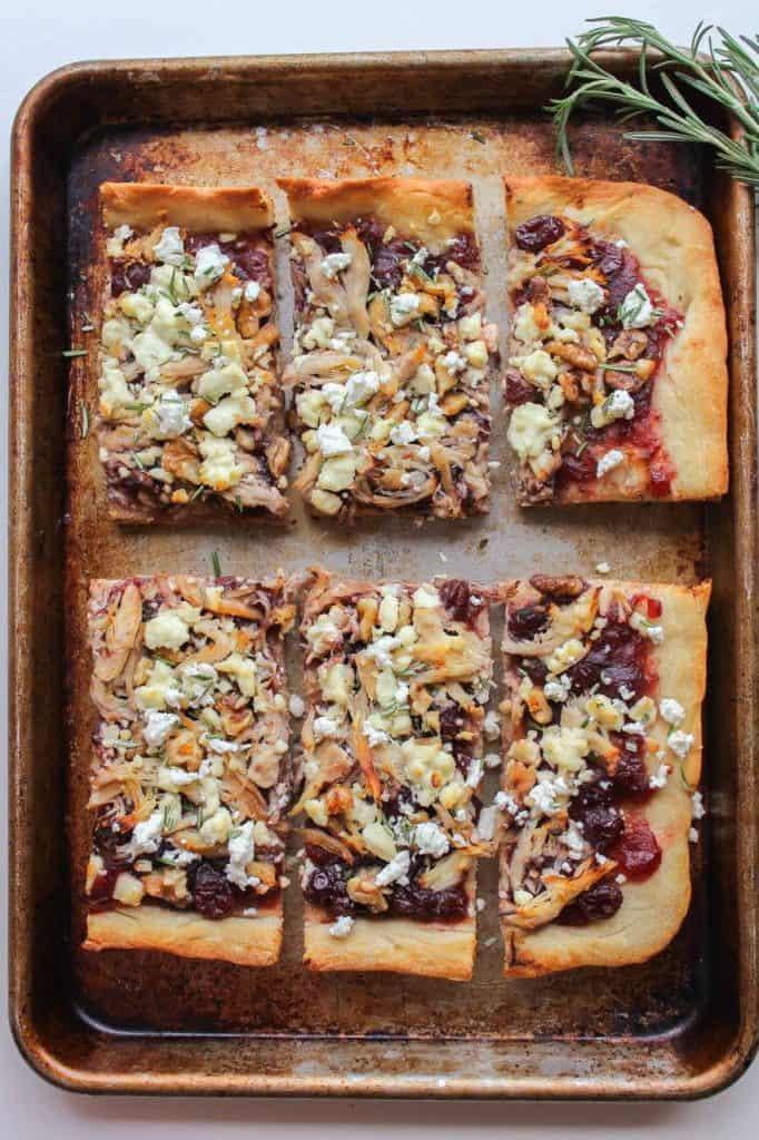 Chicken Cranberry Walnut Pizza with Goat Cheese | Chef Next Door