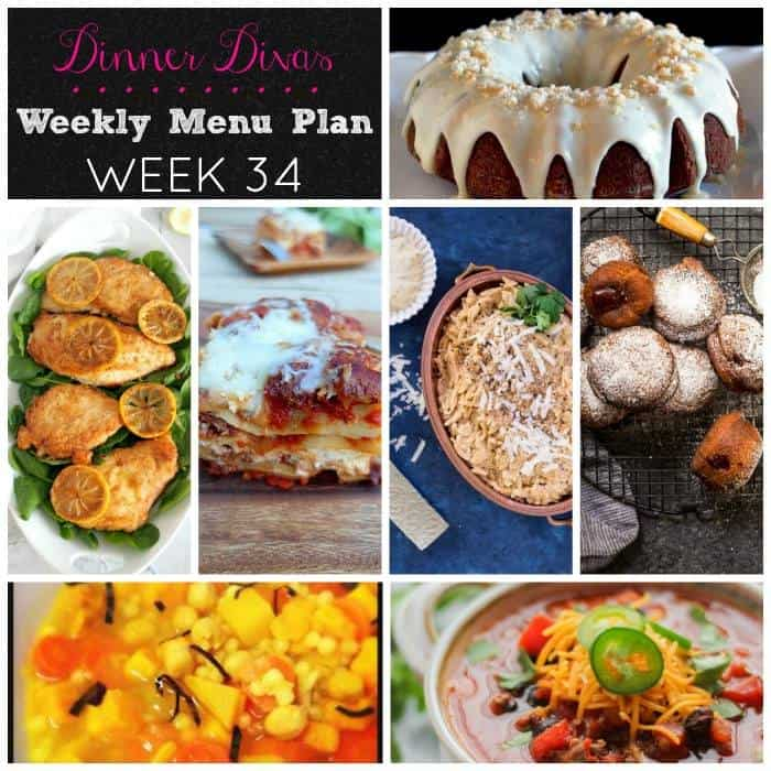 Weekly meal plan | girlinthelittleredkitchen.com