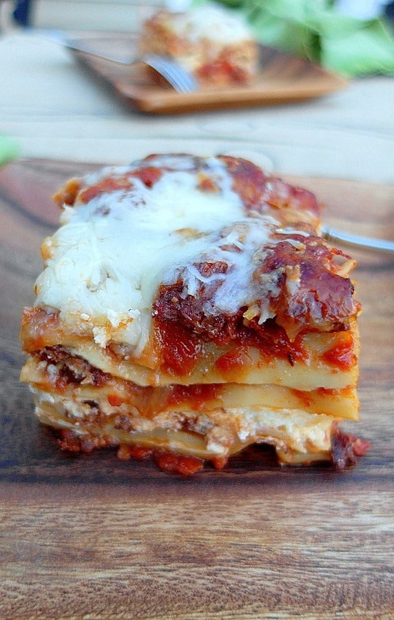 5 Cheese Hot Italian Sausage Lasagna | Pastry Chef Online