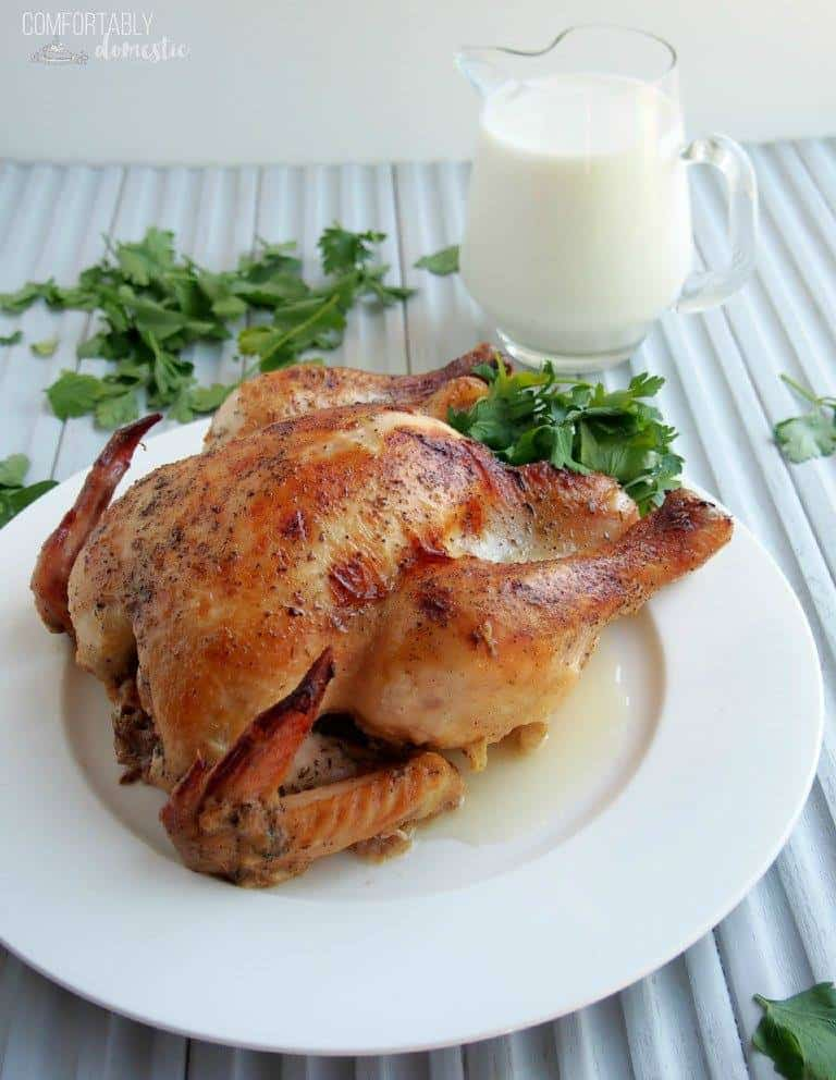 Milk Braised Chicken | Comfortably Domestic