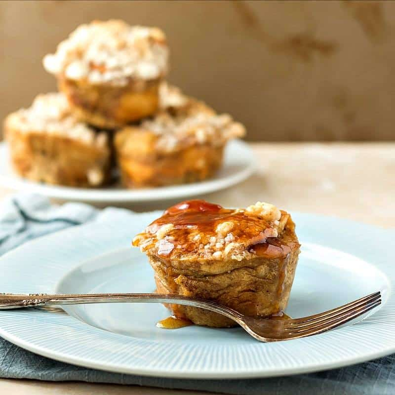 Hawaiian Roll French Toast Muffins | Pastry Chef Online