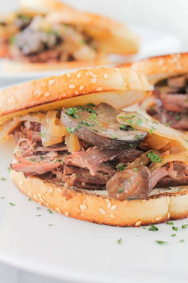 Beer Braised Brisket Sandwiches | Chef Next Door