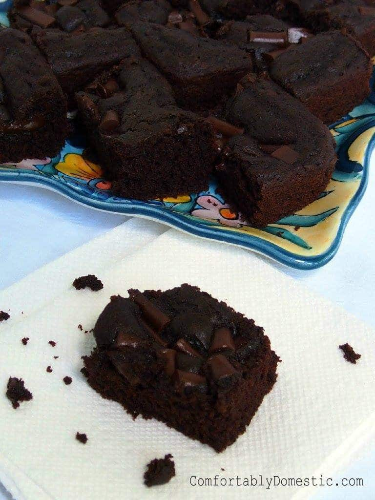 Gluten Free, Egg Free Brownies | Comfortably Domestic