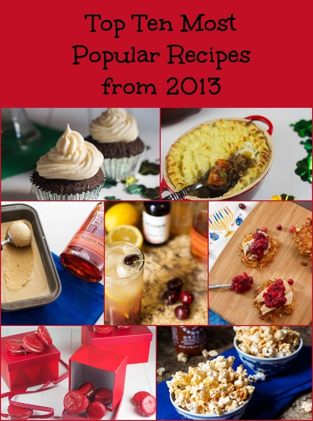 Top Ten Most Popular Girl In The Little Red Kitchen Recipes from 2013