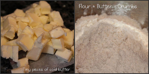 flour & butter for biscuits