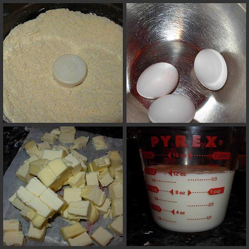 Corn & Zucchini Bread Ingredients