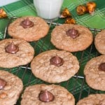 Butterscotch Oatmeal Caramel Kiss Cookies