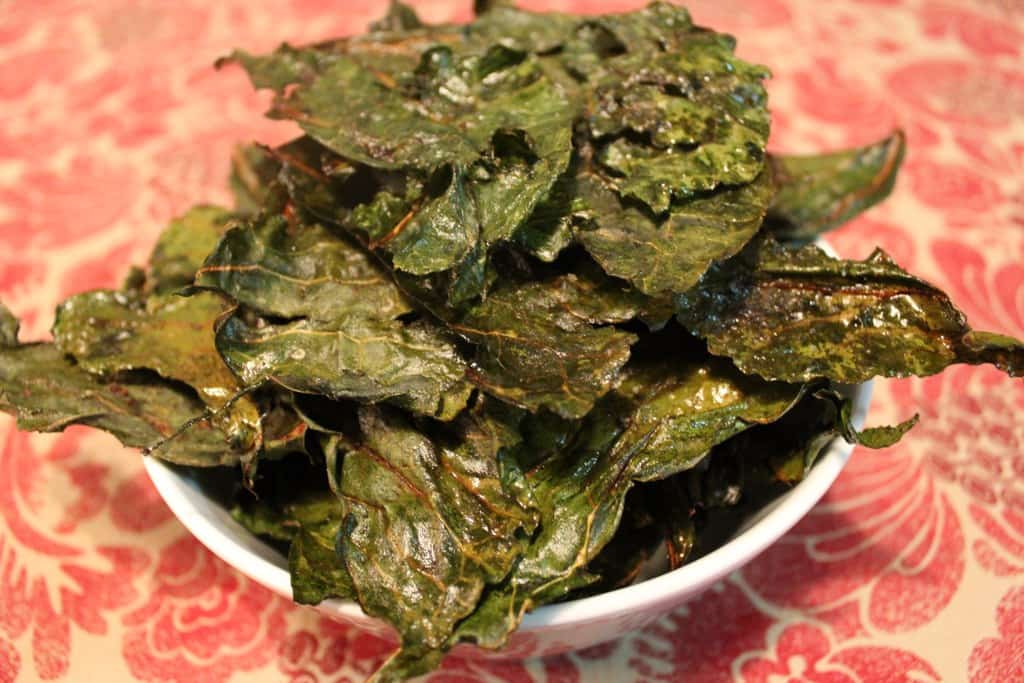 Chili-Cumin Spiced Kale Chips